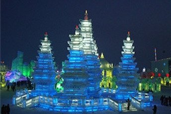 Chinas Ice Lantern Festival In Harbin For Single Travellers